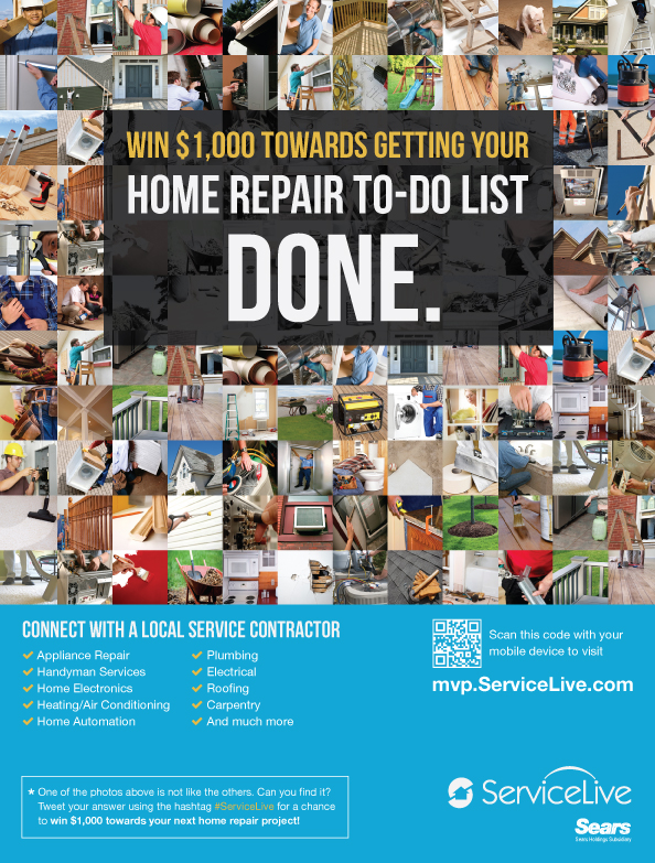 Win $1000 in Home Repairs during the World Series
