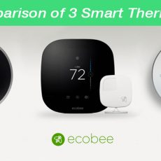 A Comparison of 3 Smart Thermostats