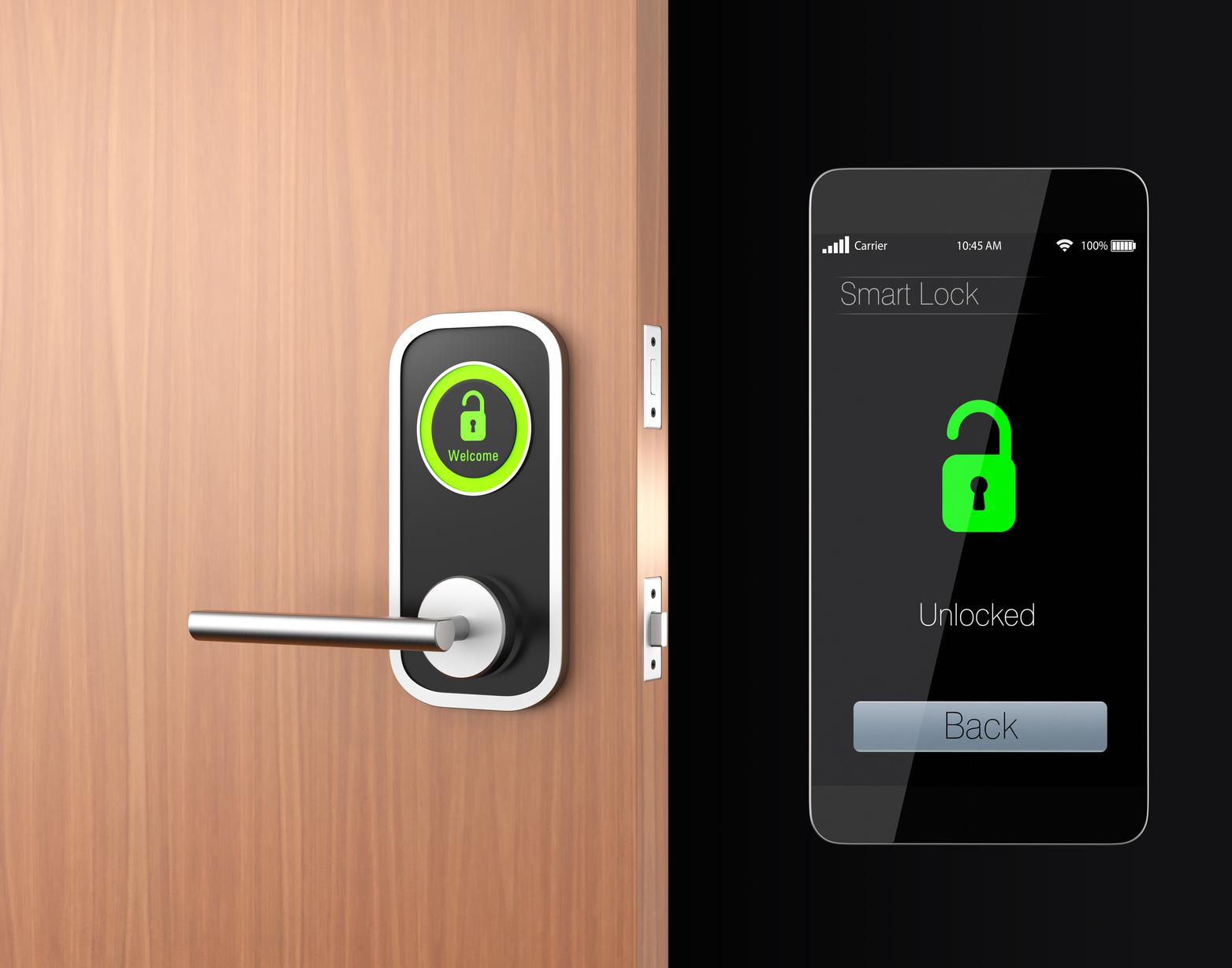 About Smart Locks Doorbells And Garage Door Openers